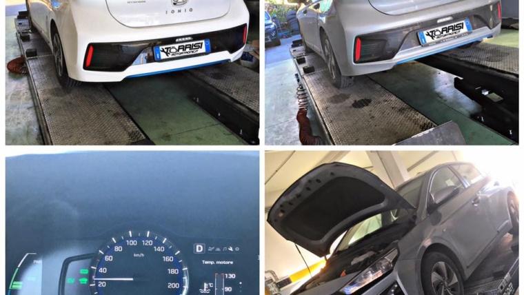Assistenza veicoli ibridi-elettrici